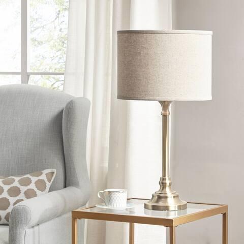 Martha Stewart Rosen Gold Table Lamp