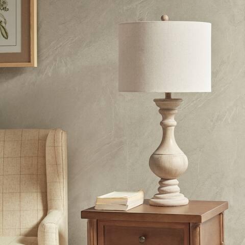 Martha Stewart Carra Natural Table Lamp