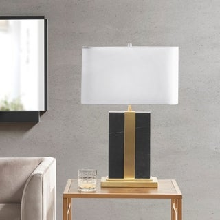 Link to Martha Stewart Barclay Black Table lamp Similar Items in Table Lamps
