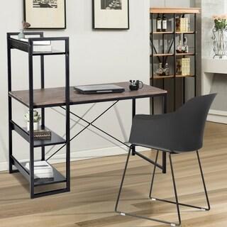 Carbon Loft Mystique Home Office L-shape Computer Desk Writing Table