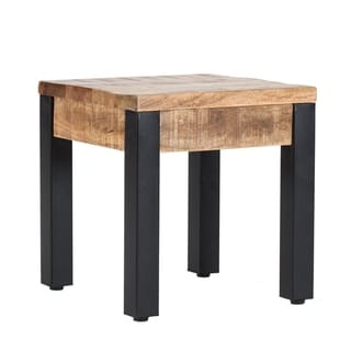 Haydon Side Table/ Mango Wood/ End Table/ Handmade/ Modern Design