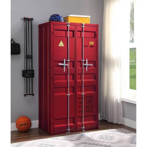 ACME Cargo Wardrobe in Red
