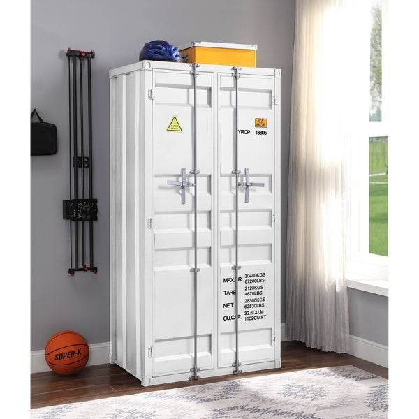 ACME Cargo Wardrobe in White