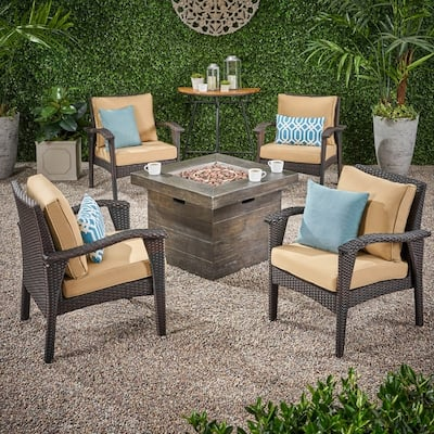 Tan Wicker Patio Furniture Find Great Outdoor Seating