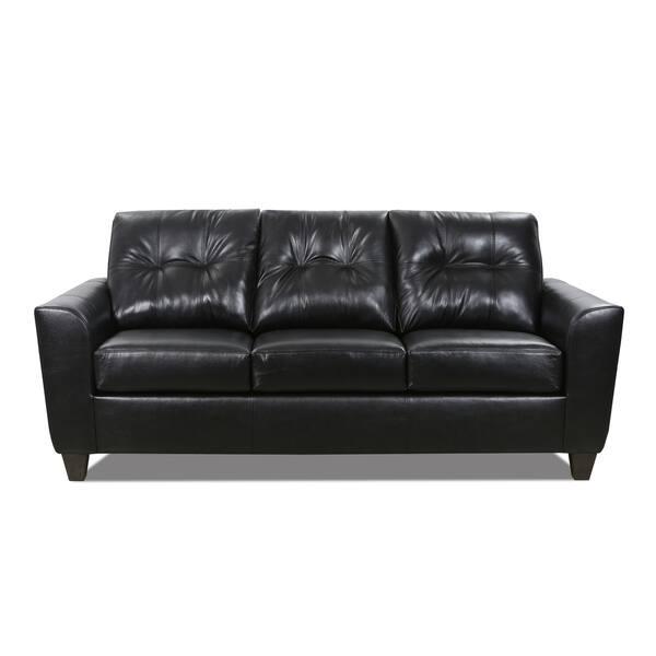 Excellent Hays Top Grain Leather Queen Sofa Sleeper Machost Co Dining Chair Design Ideas Machostcouk