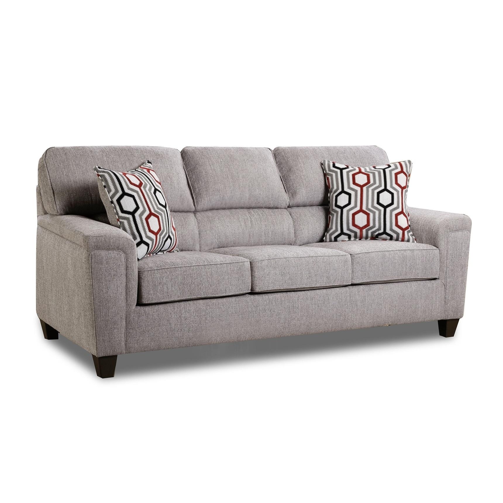 - Shop Koy Fabric Queen Sofa Sleeper With Toss Pillows - On Sale