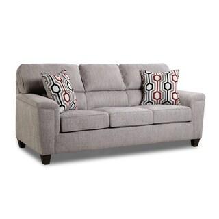 Koy Fabric Queen Sofa Sleeper with Toss Pillows