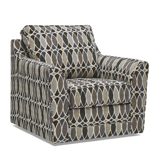 Link to Geyser Swivel Multi Color Fabric Accent Chair Similar Items in Living Room Chairs
