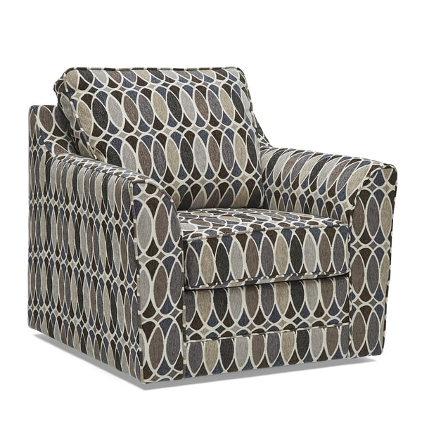 Geyser Swivel Multi Color Fabric Accent Chair. Opens flyout.