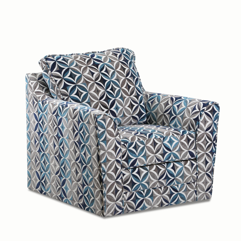 Peachy Geyser Swivel Multi Color Fabric Accent Chair Inzonedesignstudio Interior Chair Design Inzonedesignstudiocom