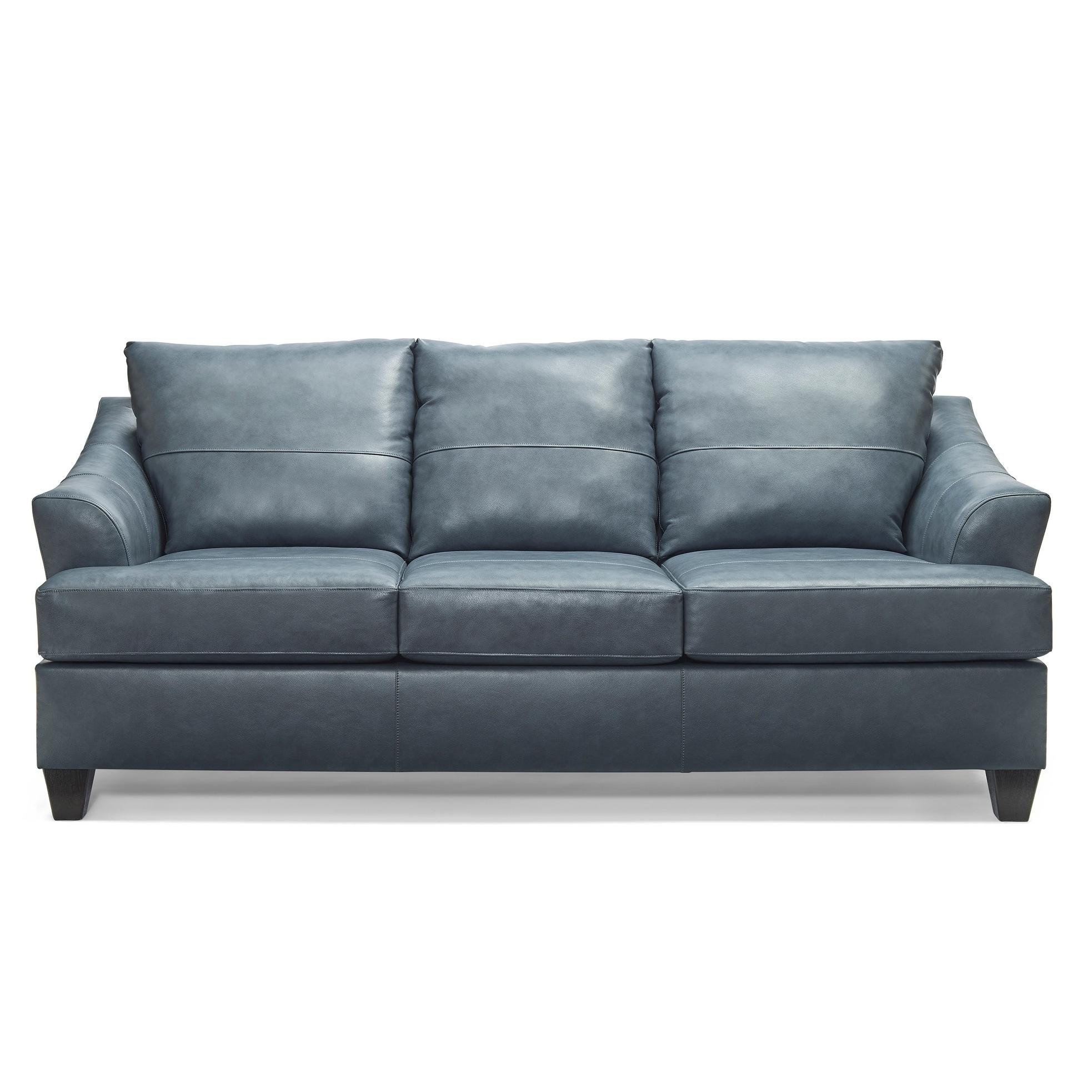 Judith Top Grain Leather Queen Sofa Sleeper