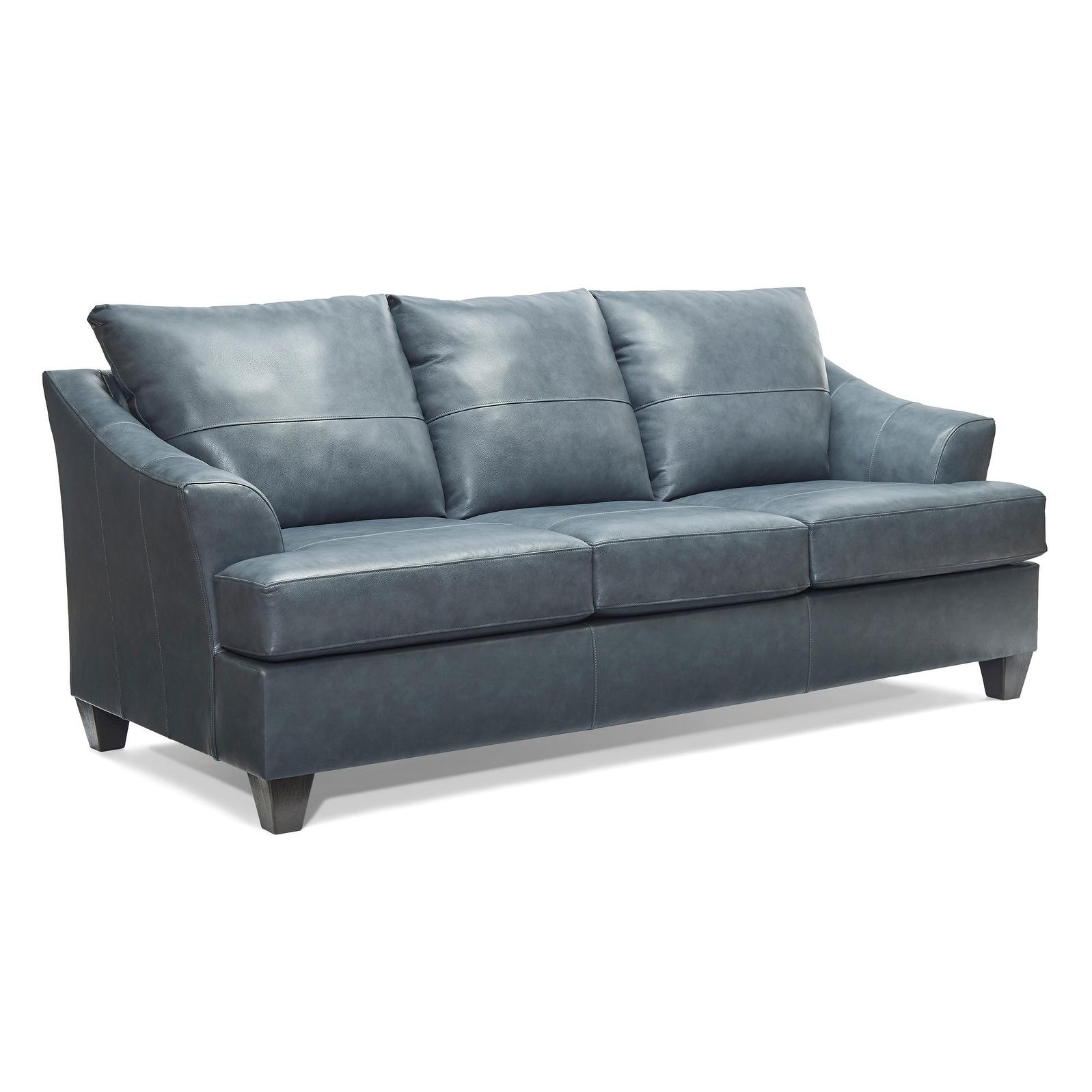 Top Grain Leather Queen Sofa Sleeper