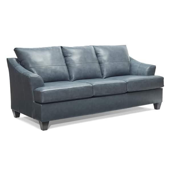 Shop Judith Top Grain Leather Queen Sofa Sleeper - On Sale ...