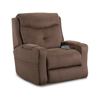 Elkhorn Fabric Power Lift Recliner with Heat/Massage and Storage