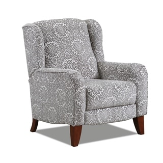 Leadore Push Back Hi-Leg Fabric Recliner