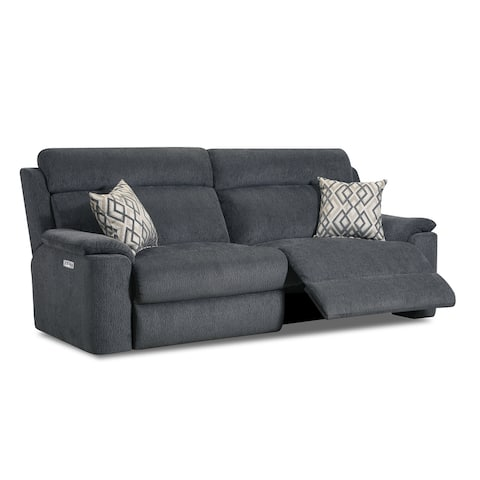 Gina Fabric Power Sofa Recliner with USB Charging Port