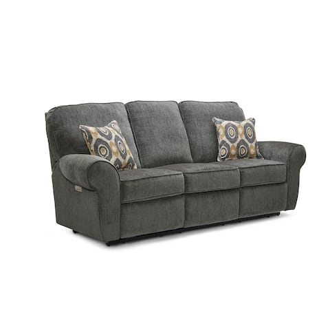 Pronto Fabric Power Sofa Recliner with USB Charging Port
