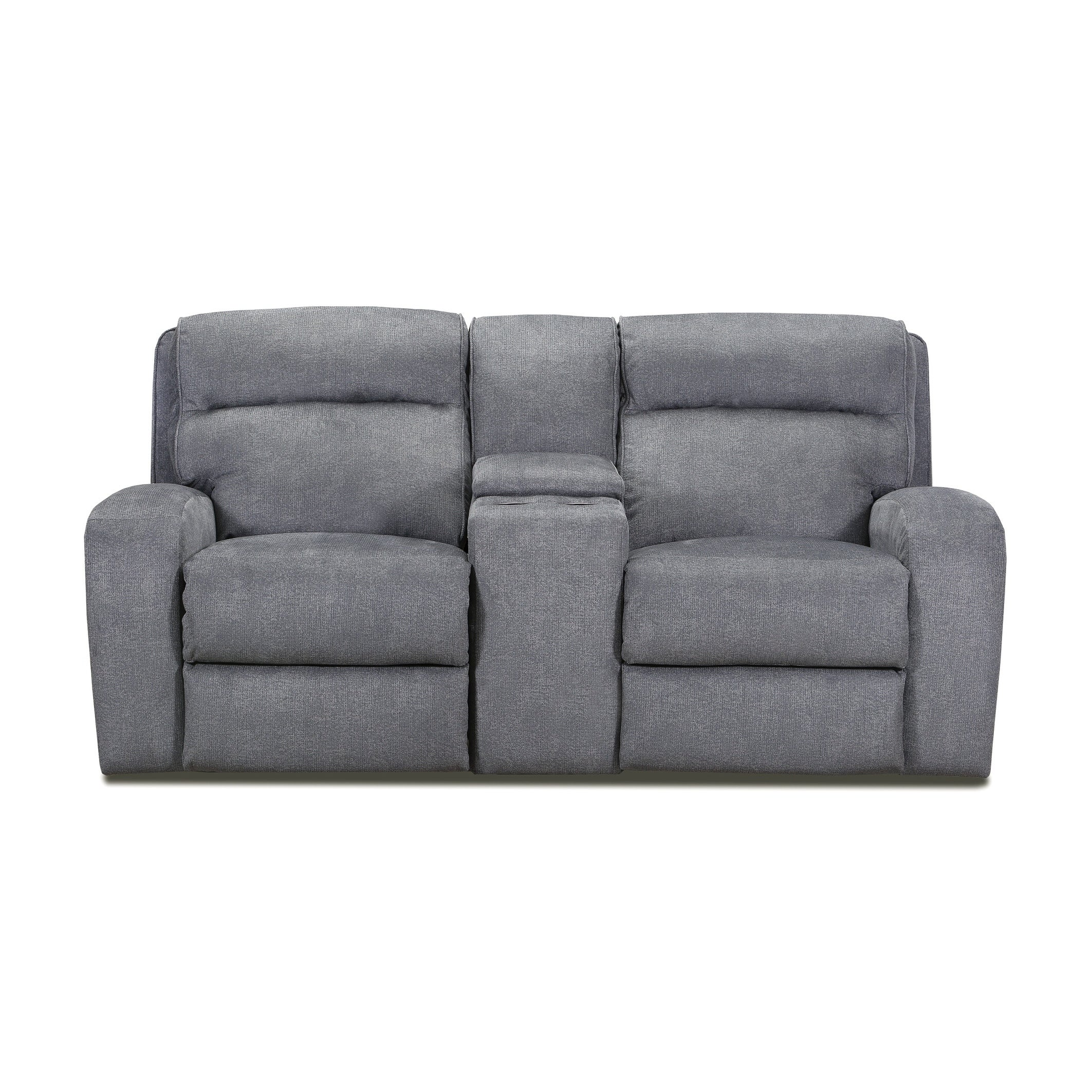 Picture of: Warren Power Loveseat Recliner With Console Storage And Usb Charging Port Overstock 28677343