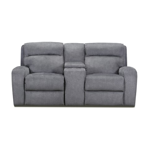 Warren Power Loveseat Recliner with Console Storage and USB Charging Port