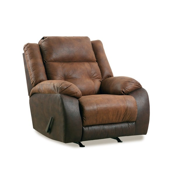 Arco Faux Leather Recliner