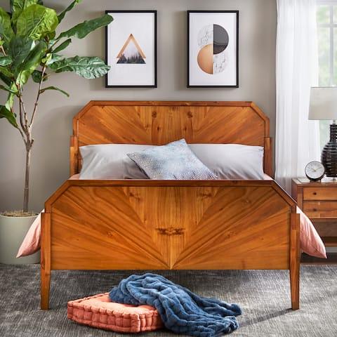 Lifestorey Monty Queen Bed