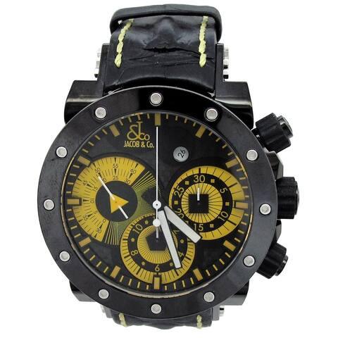 46.5mm Jacob & Co. Epic II Chronograph Watch