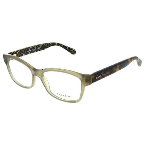 Coach HC 6116 5508 52mm Womens Olive Frame Eyeglasses 52mm