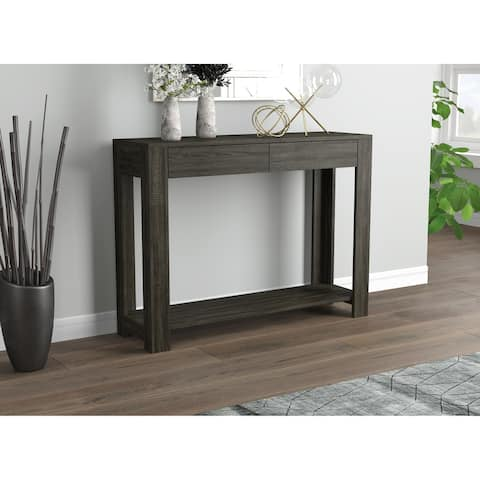 Carbon Loft Weiskittel Console Sofa Table with 2 Drawers
