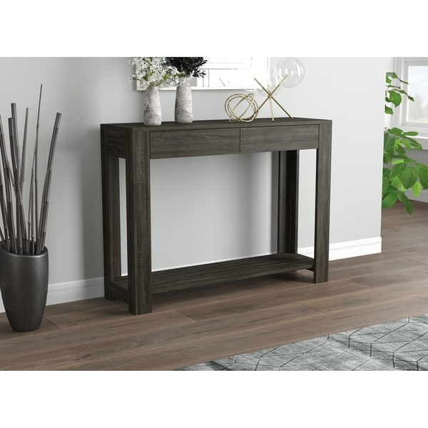 Carbon Loft Weiskittel Console Sofa Table with 2 Drawers. Opens flyout.