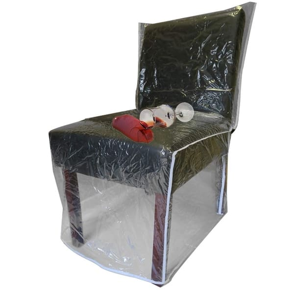 Astounding Shop Evelots Dining Room Chair Protector Clear No Dust Spill Alphanode Cool Chair Designs And Ideas Alphanodeonline