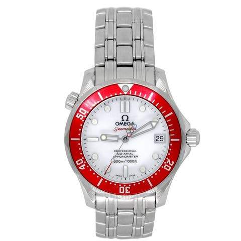 Pre-owned 36mm Omega Seamaster '2010 Vancouver Olympics' Watch