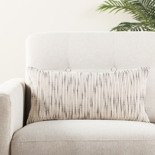 The Curated Nomad Otis Stripe Lumbar Pillow