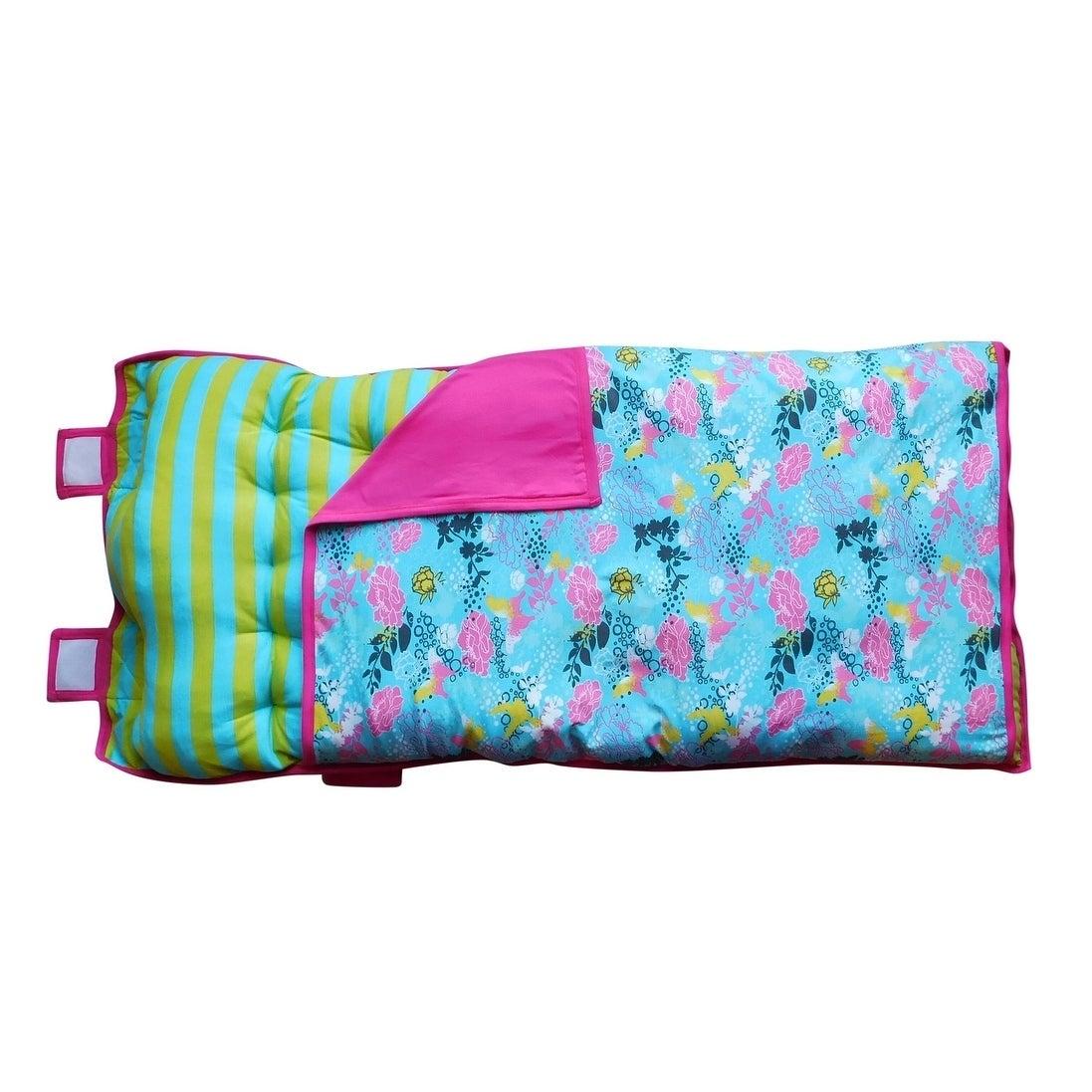Shop Annloren Butterflies Flowers Cozy Plush Nap Mat Pillow