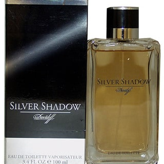 Davidoff Silver Shadow Men's 3.4-ounce Eau de Toilette Spray