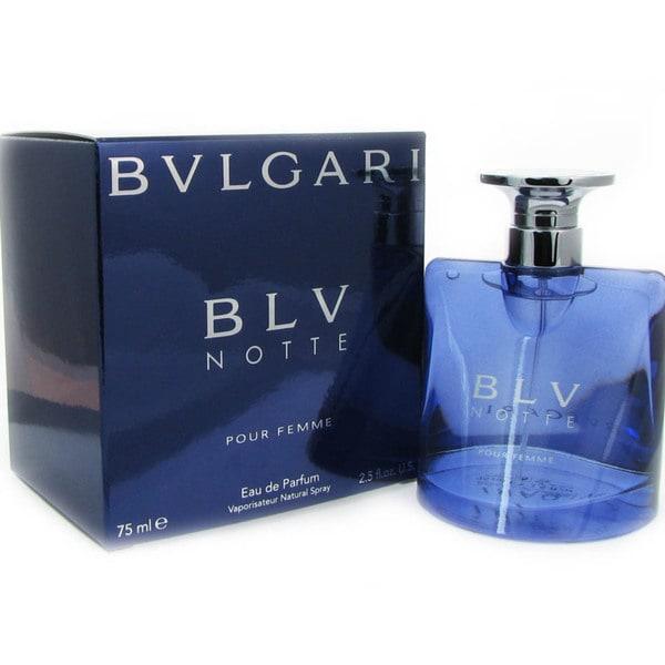 Bvlgari BLV Notte Women's 2.5-ounce Eau de Parfum Spray