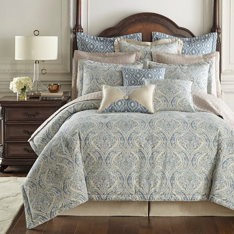 Thread and Weave Magnolia Blue 3-piece Duvet Set