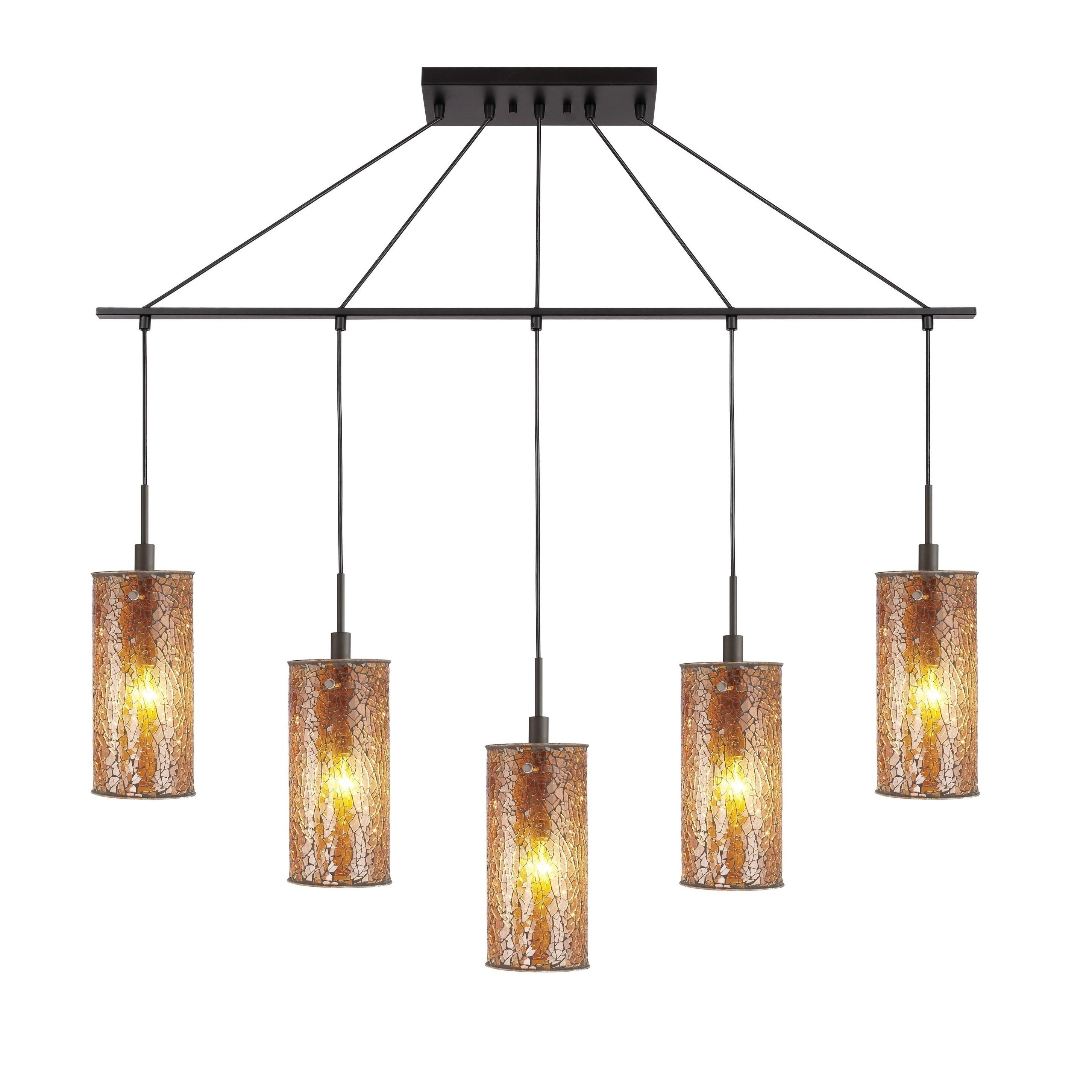 Woodbridge Lighting 13429meb M10 5 Light Linear Pendant