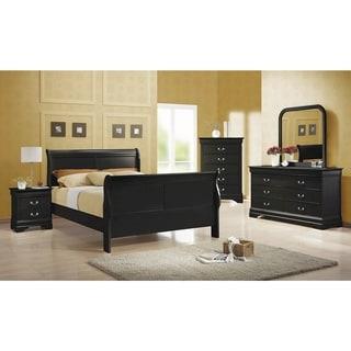 Link to Hilltop 2-piece Sleigh Panel Bedroom Set with Nightstand Similar Items in Bedroom Furniture