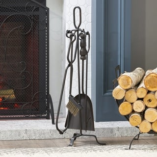 Almonte Fireplace Tool Set by Christopher Knight Home
