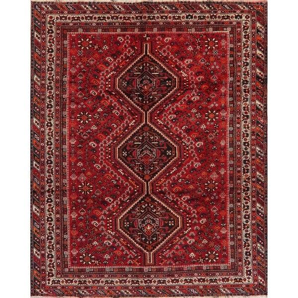 "Lori Oriental Tribal Vinatge Hand Knotted Wool Persian Area Rug - 9'9"" x 6'11"""