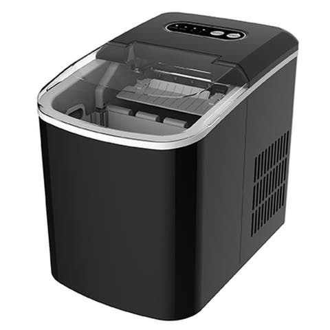 Professional Series 26 lb Ice Maker Machine (not a freezer), Black