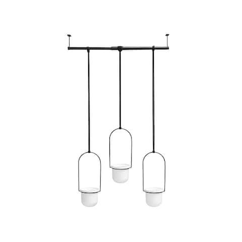 Umbra Triflora Hanging Planters for Indoor Plants or Herbs
