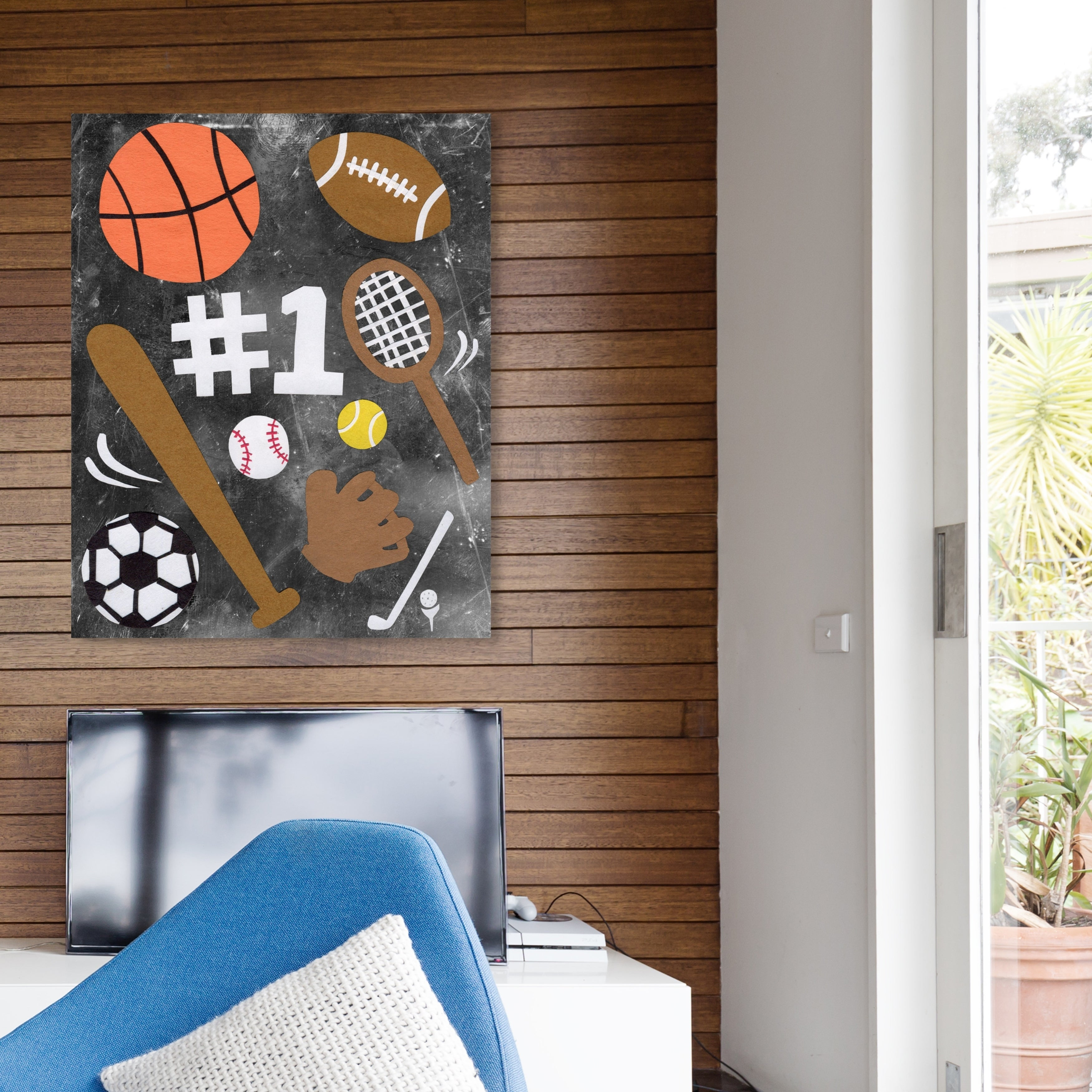 Oliver Gal Sports Fan Sports And Teams Wall Art Canvas Print Orange Brown Overstock 28701015