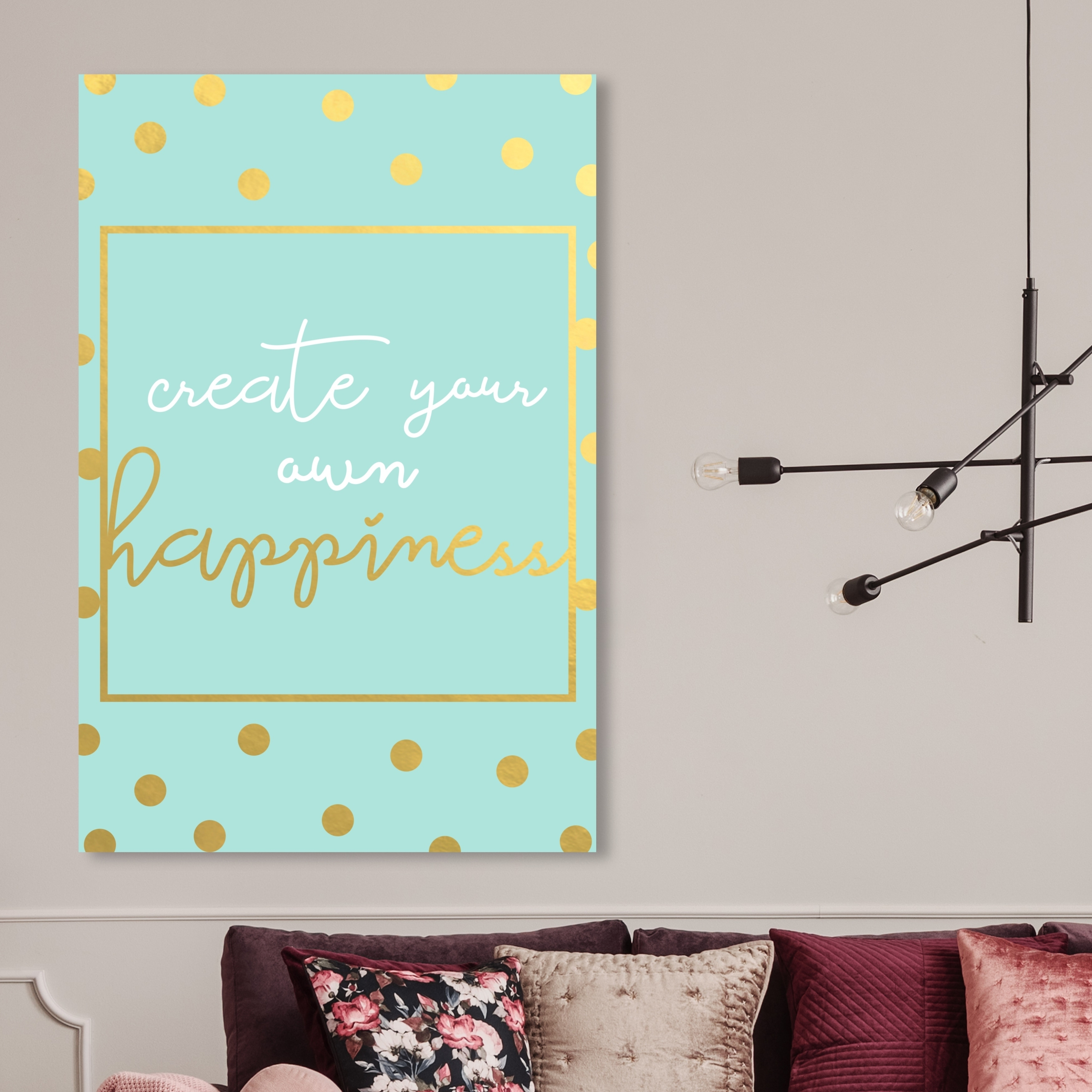 shop oliver gal create your own happiness typography and quotes