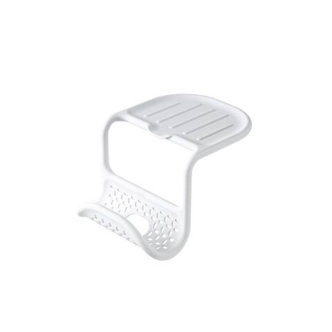 Umbra Sling Flexible Sink Caddy, Holds Sponge and Scrubbing Brush or Dishrag