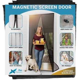 Summer Mosquito Net Door Automatic Closing of The Rain Tent Soft Magnetic Anti-Mosquito Mosquito Eforstore Mosquito Net