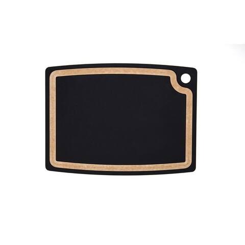 """Epicurean Gourmet Cutting Board: Slate/Natural 17.5"""" × 13"""""""