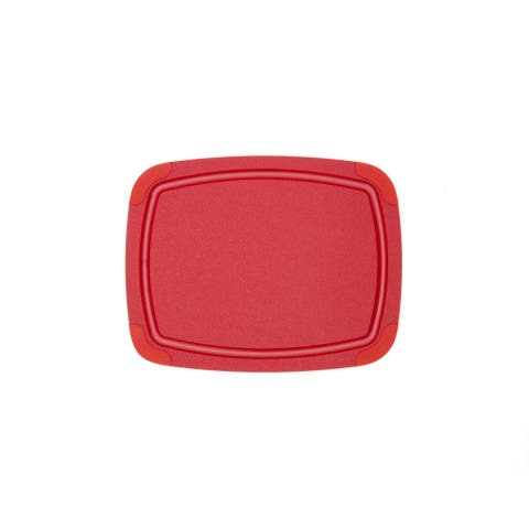 "Epicurean Poly Boards Red 11.5"" × 9"""