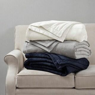 Madison Park Campbell Reversible Down Alternative Blanket