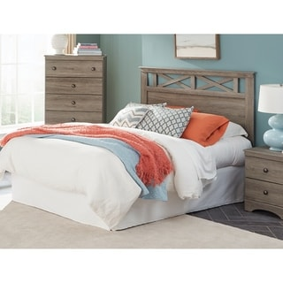 American Furniture Classics Mulberry Collection Three Piece Bedroom set including Headboard, Five Drawer Chest, and Night Stand